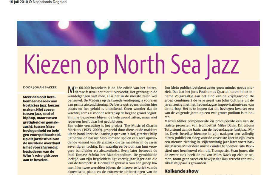 northseajazz2010nederlandsdagblad