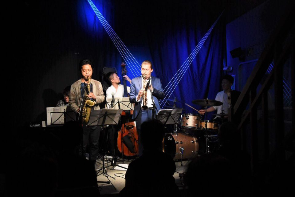 Joris Posthumus Group, FM Kitakata live space, Fukushima, Japan album release tour 2016