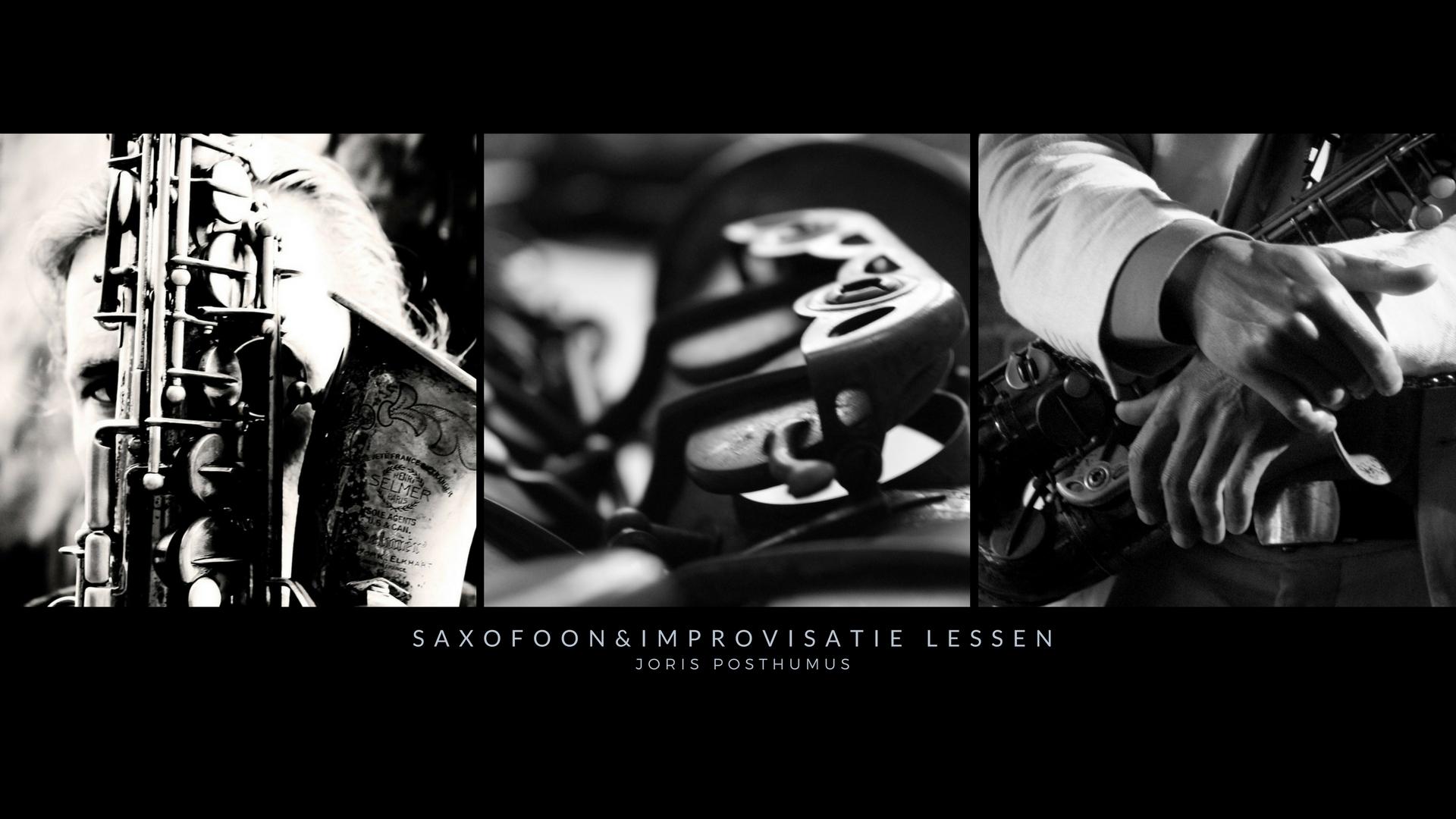 Saxofoonimprovisatie-lessen