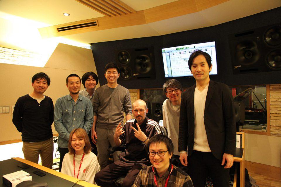 Album recording 2020 photo's by Kazuya Nagae